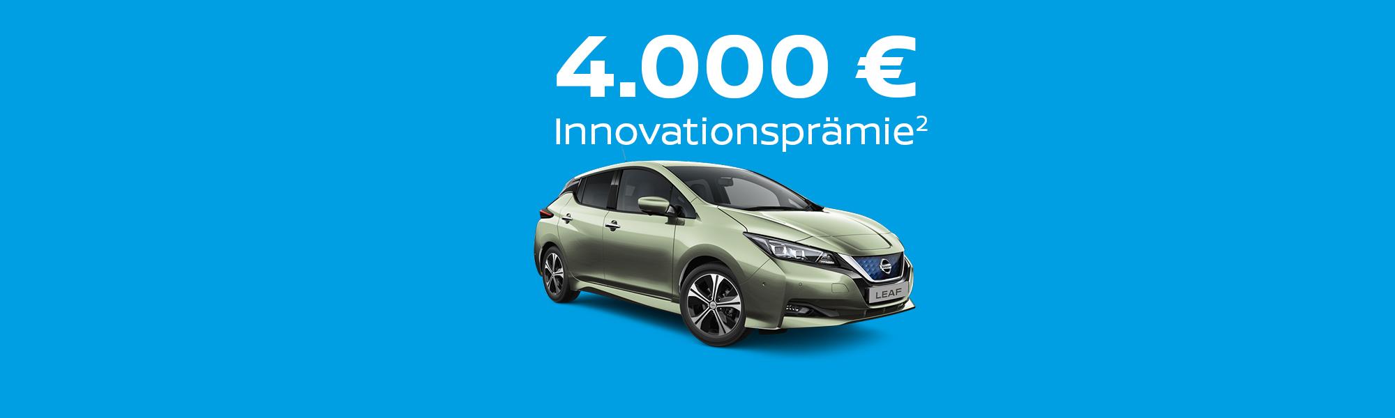 Wir garantieren die Innovationsprämie²!