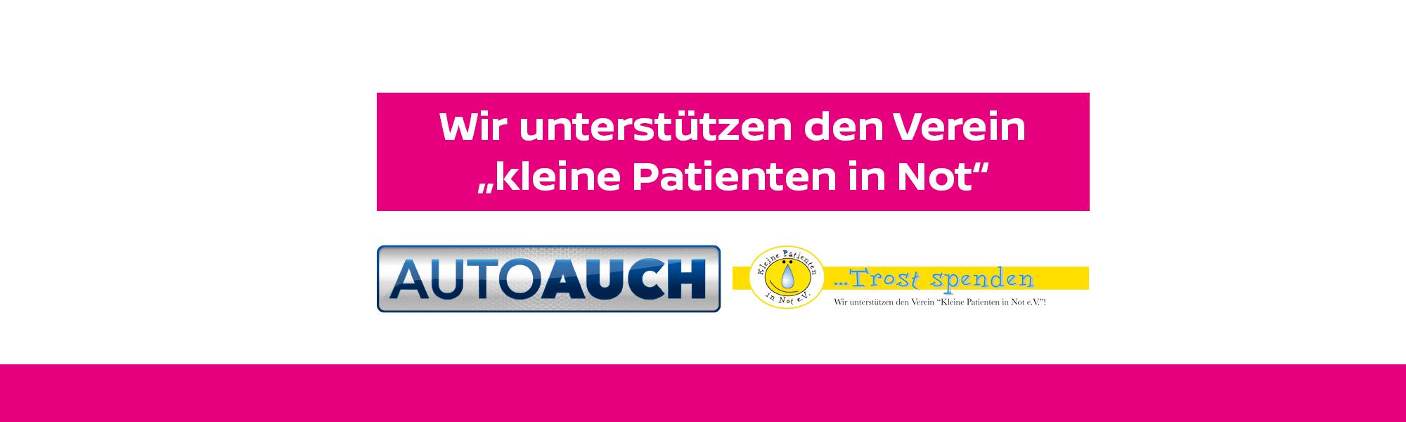 """Wir unterstützen den Verein """"Kleine Patienten in Not e.V."""""""
